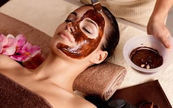 Μεταξένια επιδερμίδα με μάσκα σοκολάτας 7a5054d6146