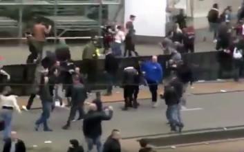 Σοβαρά επεισόδια στο Ρότερνταμ από οπαδούς της Φέγενορντ