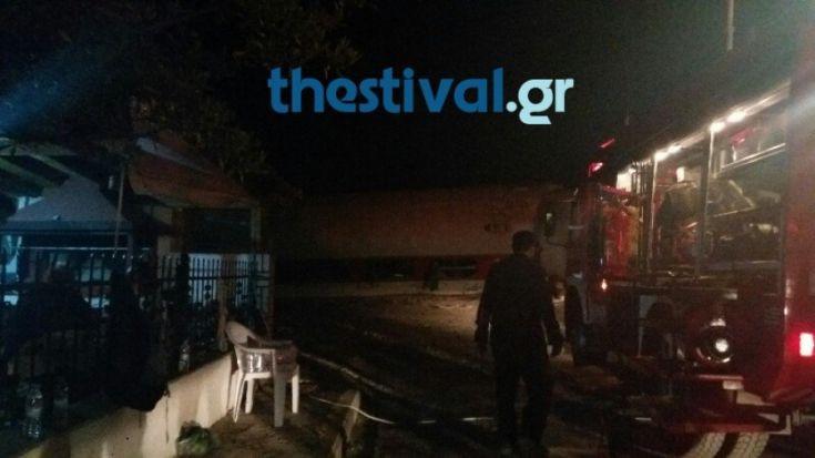 Τέσσερις νεκροί και 5 τραυματίες από τον εκτροχιασμό στο Άδενδρο Θεσσαλονίκης