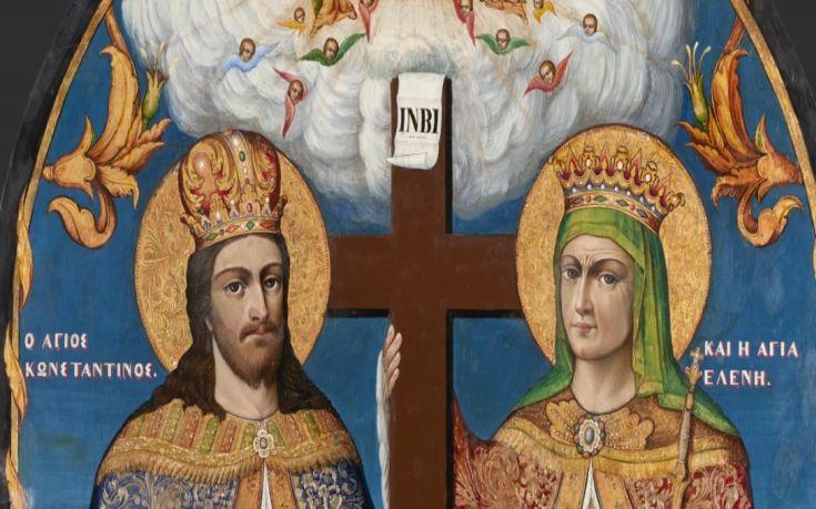 Για πρώτη φορά στην Αθήνα το λείψανο της Αγίας Ελένης