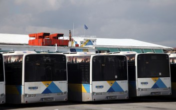Σε στάση εργασίας σήμερα οι εργαζόμενοι στα λεωφορεία