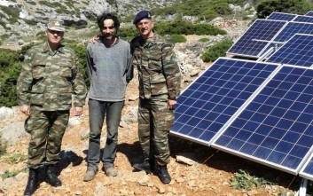 Ενεργειακή βοήθεια σε Κίναρο και Λέβιθα από το υπουργείο Άμυνας