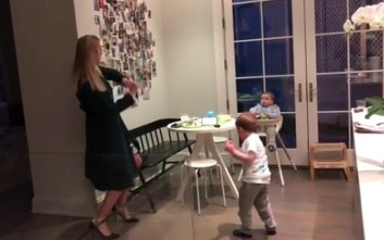 Ο χορός της Ιβάνκα Τραμπ με τον γιο της