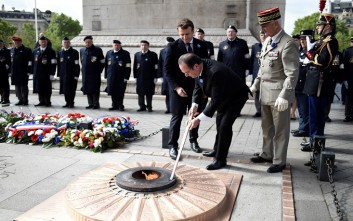 Την Κυριακή η μεταβίβαση της προεδρικής εξουσίας στη Γαλλία