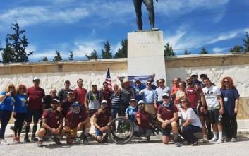 Οι «300 της Σπάρτης» περπάτησαν 378 χιλιόμετρα για να φθάσουν στις Θερμοπύλες