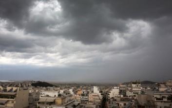 Αλλάζει το σκηνικό του καιρού με ισχυρές βροχές και καταιγίδες