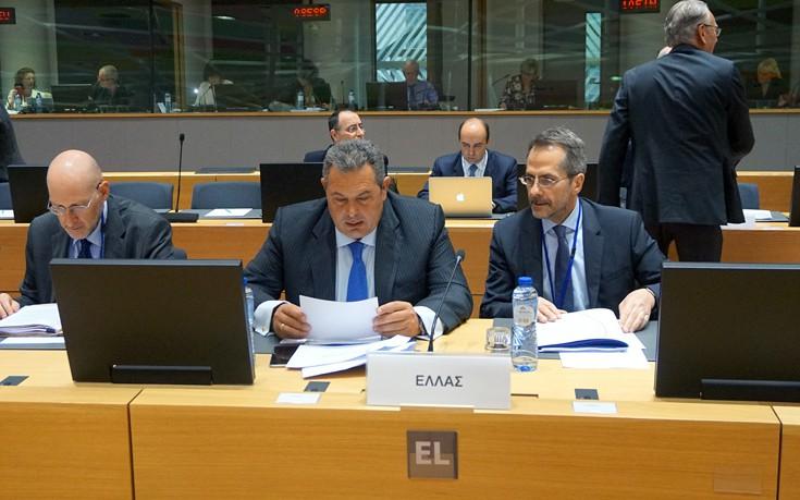 Ο Καμμένος ενημέρωσε τον γ.γ. του ΝΑΤΟ για την τουρκική πρόκληση στο Αγαθονήσι