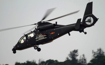 Κινεζικό επιθετικό ελικόπτερο έκανε την παρθενική του πτήση