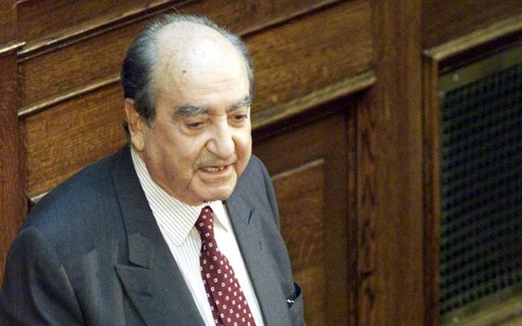 Απεβίωσε ο Κωνσταντίνος Μητσοτάκης