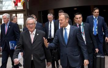 Εποικοδομητική η συνάντηση Γιούνκερ, Τουσκ και Ερντογάν