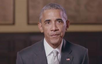 Βίντεο στήριξης στον Μακρόν από τον Μπαράκ Ομπάμα