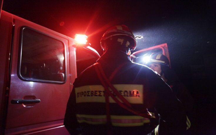 Φωτιά σε μονοκατοικία στη Χαλκιδική