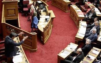 Ένταση στη Βουλή με Τσακαλώτο, Σκουρλέτη και Χατζηδάκη