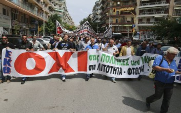 Διαδηλώσεις και στη Θεσσαλονίκη σήμερα για την ψήφιση των νέων μέτρων