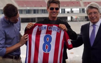 Ο Τομ Κρουζ επισκέφθηκε το νέο γήπεδο της Ατλέτικο
