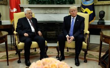 Ο Τραμπ πρόθυμος να συμπεριλάβει τον Αμπάς στην ειρηνευτική πρόταση