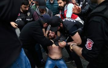 Πρωτομαγιά με δακρυγόνα στην πλατεία Ταξίμ στην Κωνσταντινούπολη
