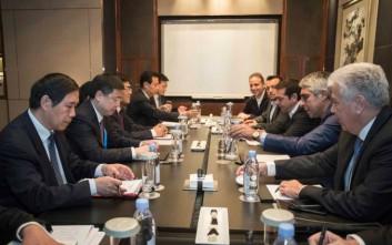 Ενεργειακά πρότζεκτ στη συνάντηση Τσίπρα με τον κινεζικό κολοσσό State Grid