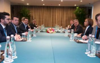 Τσίπρας και Γκουτέρες συζήτησαν στο Πεκίνο για το Κυπριακό