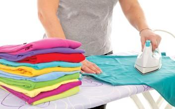 Πώς να μη γυαλίζουν τα ρούχα στο σιδέρωμα