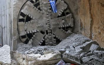 «Ολοκληρώνεται μέχρι τέλος Ιουλίου το 100% της διάνοιξης των σηράγγων του Μετρό Θεσσαλονίκης»