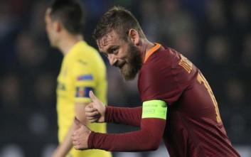 Ντε Ρόσι: Μέχρι το 2018 στην Εθνική, το 2019 λέω «αντίο» στη Ρόμα