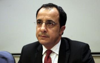 Χριστοδουλίδης: Εμείς δεν είμαστε ψευδοκυβέρνηση, εμείς είμαστε Κυπριακή Δημοκρατία
