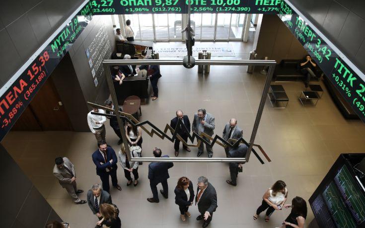 Με μικρή άνοδο 0,10% έκλεισε το Χρηματιστήριο Αθηνών
