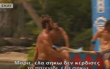 Ο Ντάνος έστειλε μήνυμα στον Μάριο για ρεβάνς στον τελικό του Survivor