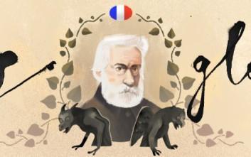 Βίκτωρ Ουγκό, ο μεγάλος φιλέλληνας, στο doodle της Google