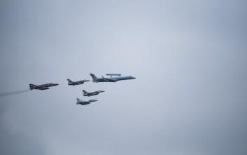 Νέες υπερπτήσεις τουρκικών F-16 πάνω από Φαρμακονήσι, Λειψούς, Αγαθονήσι, Παναγιά και Οινούσσες