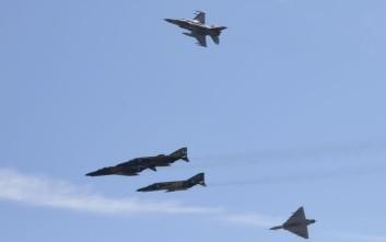 Δεύτερη πτήση τουρκικών F-16 στο Αιγαίο