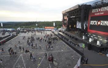 Εκκενώθηκε το φεστιβάλ Rock am Ring στη Γερμανία μετά από τρομοκρατική απειλή