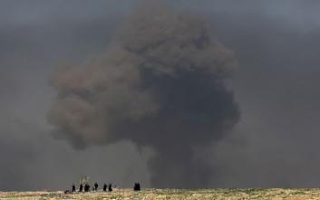 συρία ιράκ βομβαριδσμοί