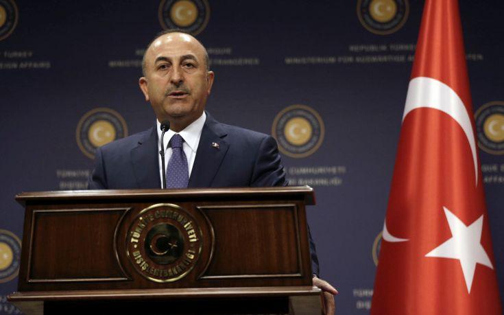 Τσαβούσογλου: Η Τουρκία θέλει να εξασφαλίσει τα δικαιώματα των Τουρκοκυπρίων