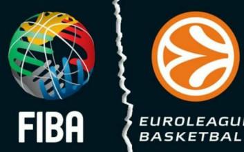 H FIBA απέρριψε την πρόταση της Euroleague