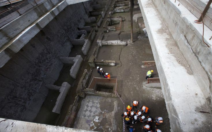 Στο φως μεγάλης αξίας αρχαιολογικά εύρηματα από τις ανασκαφές στο μετρό της Ρώμης