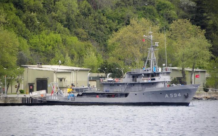 Μεταξύ Χίου και Ικαρίας αρμένισε παράνομα το τουρκικό ερευνητικό σκάφος «Τσουμπουκλού»