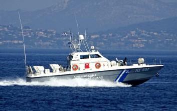 Επιχείρηση διάσωσης μεταναστών μεταξύ Σάμου, Ικαρίας και Χίου
