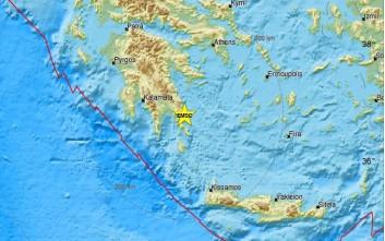 Σεισμός 4,8 ρίχτερ ταρακούνησε τη Λακωνία