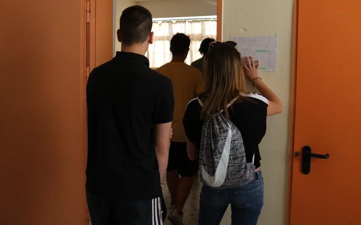 Πρώτη μέρα πανελλαδικών χωρίς προβλήματα στην Κεντρική Μακεδονία