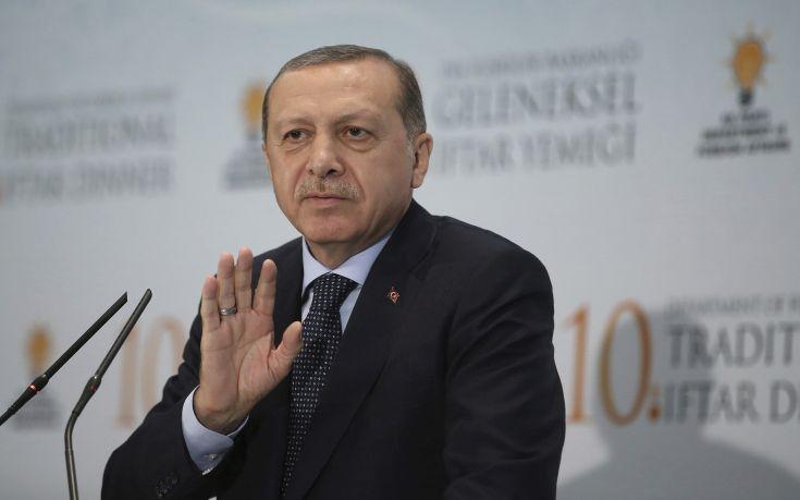 Ερντογάν: Η Τουρκία δεν θα φοβηθεί από τις απειλές της Γερμανίας