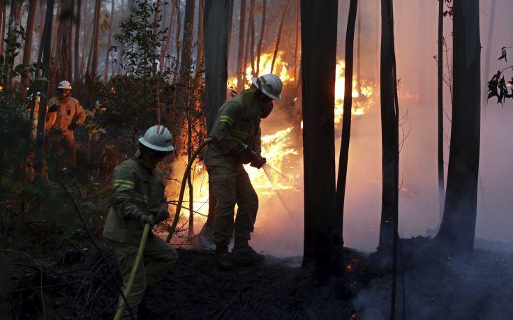 Αυξάνεται διαρκώς ο αριθμός όσων κάηκαν στην Πορτογαλία