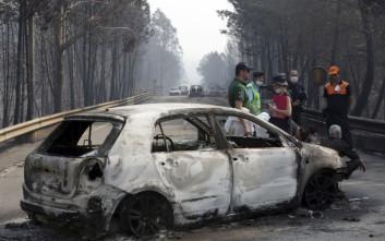 Μαίνονται οι φονικές πυρκαγιές στην Πορτογαλία