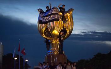 Επίσκεψη υψηλού συμβολισμού του Κινέζου προέδρου στο Χονγκ Κονγκ