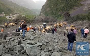 Φόβοι ότι περίπου 100 αγνοούνται θαμμένοι κάτω από τη λάσπη στην Κίνα