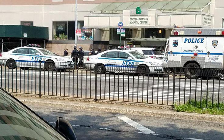 Αστυνομία της Νέας Υόρκης: Ένας ένοπλος είναι νεκρός στο νοσοκομείο