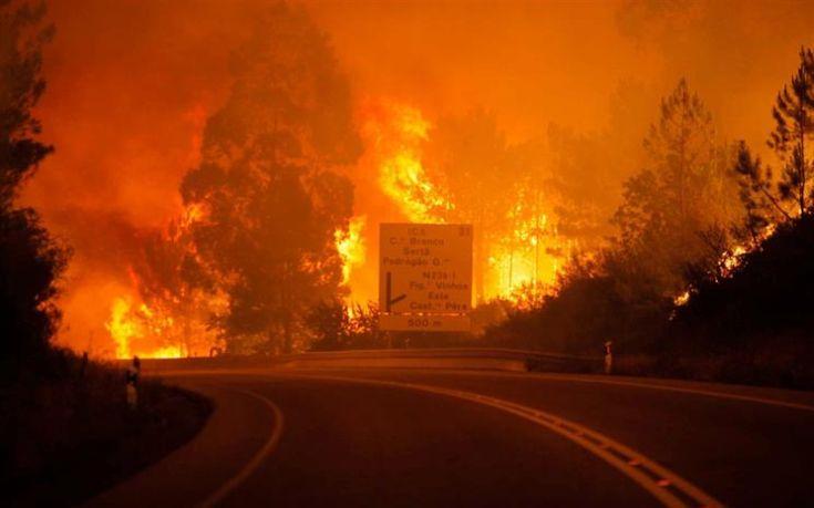 Πυρκαγιά στην Πορτογαλία με 19 νεκρούς