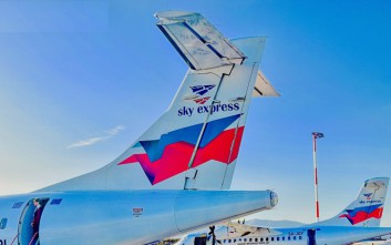 Η Sky Express θα συνδέει από την 1η Νοεμβρίου τα Χανιά με την Αθήνα
