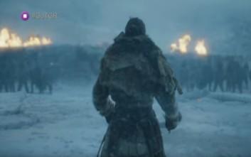 Περισσότερος… χειμώνας και μάχες στο νέο trailer του Game Of Thrones